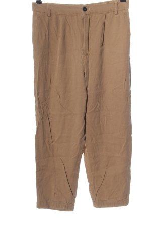 Zara 3/4-Hose braun Casual-Look