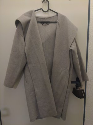 Zara Gabardina tipo vestido gris