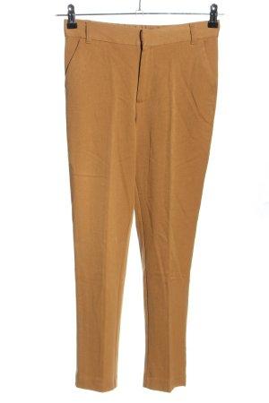 Zara Pantalon 7/8 orange clair style décontracté