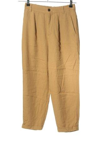 Zara 7/8-Hose braun Casual-Look