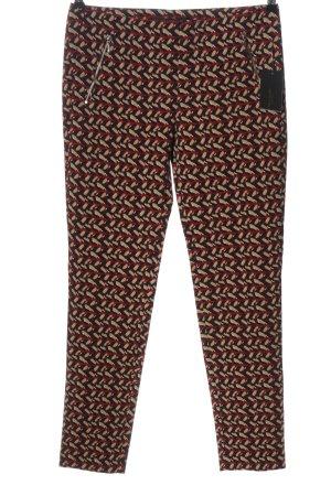 Zara 7/8-Hose Allover-Druck Business-Look