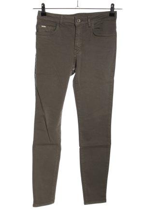 Zara 7/8-broek khaki casual uitstraling
