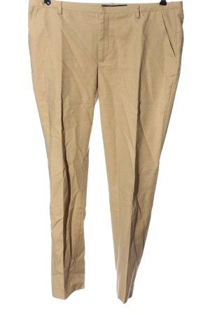 Zara 7/8 Length Trousers cream casual look