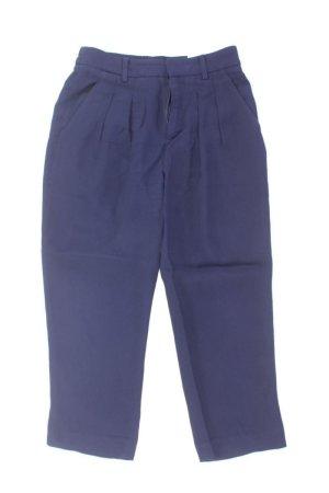 Zara 7/8 Hose Größe XS blau aus Viskose