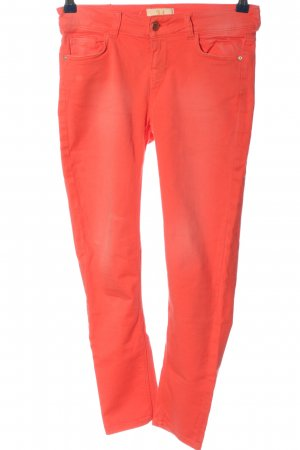 Zara 7/8 Jeans rot Casual-Look
