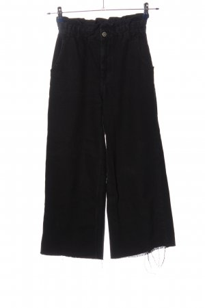 Zara Vaquero 7/8 negro look casual