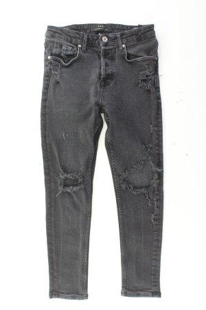 Zara 7/8 Jeans Größe 36 grau aus Baumwolle