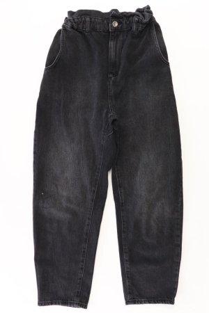 Zara 7/8-jeans zwart Katoen