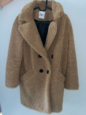 Zara Coat Dress light brown