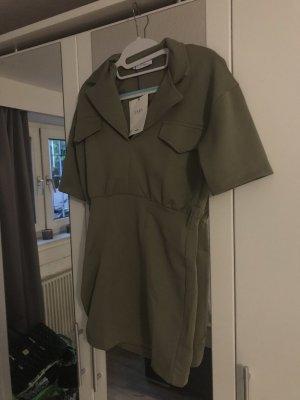 Zara Abito blusa camicia verde chiaro