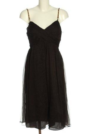 Zara A-Linien Kleid braun Elegant
