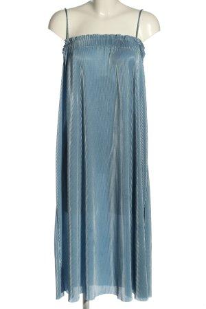 Zara Trägerkleid blau Streifenmuster Casual-Look