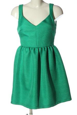 Zara A-Linien Kleid grün Elegant