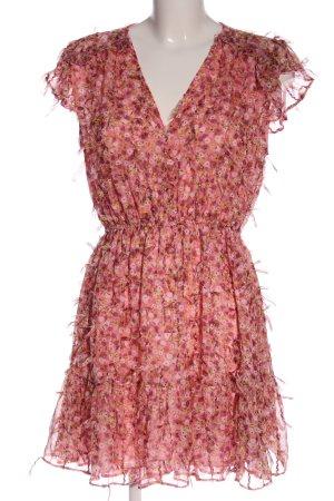 Zara Chiffon Dress allover print casual look