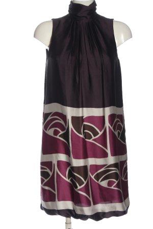 Zara A-Linien Kleid abstraktes Muster Elegant