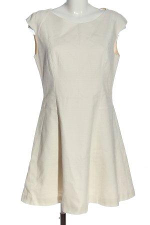 Zara A-Linien Kleid wollweiß Casual-Look