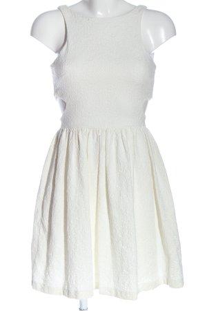 Zara A-Linien Kleid weiß Casual-Look