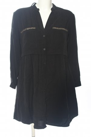 Zara A-Linien Kleid schwarz Casual-Look