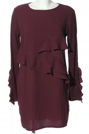 Zara A-Linien Kleid lila Casual-Look