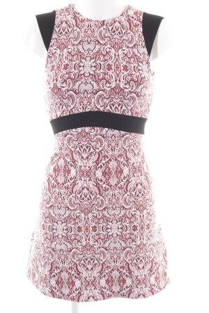 Zara A-Linien Kleid mehrfarbig