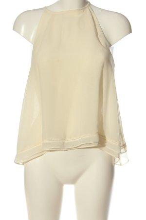 Zara A-Linien Top creme Elegant