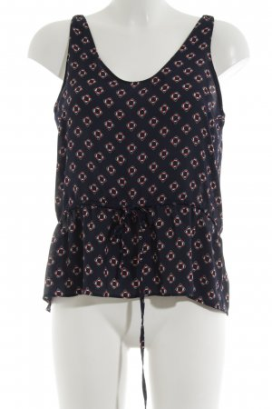 Zara A-Linien Top Allover-Druck Casual-Look