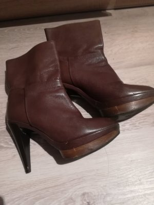 Zara Halfhoge laarzen brons