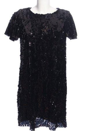 Zara Abendkleid schwarz extravaganter Stil