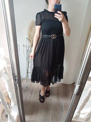 Zara Abendkleid schwarz M 38