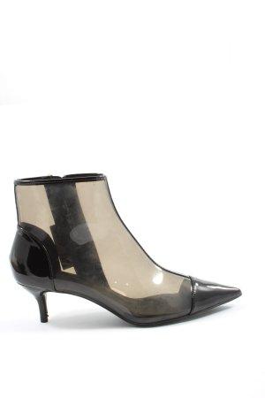 Zara Absatz Stiefel schwarz Elegant