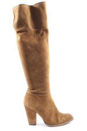 Zara Absatz Stiefel braun Casual-Look