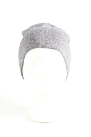 Zara Accesoires Berretto grigio chiaro stile casual