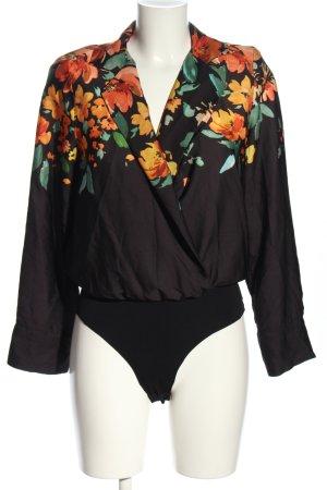 Zara Accesoires Blusa tipo body estampado floral look casual