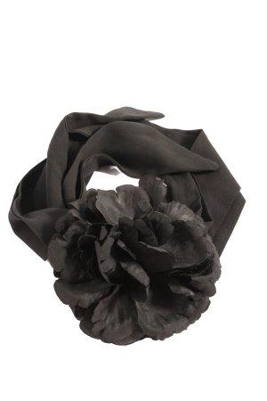 Zara Accesoires Pasek materiałowy czarny W stylu casual