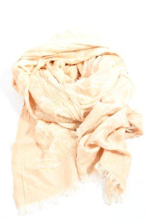 Zara Accesoires Bufanda de flecos crema look casual