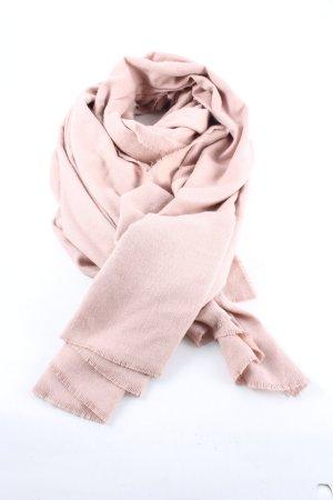 Zara Accesoires Écharpe à franges rose style décontracté