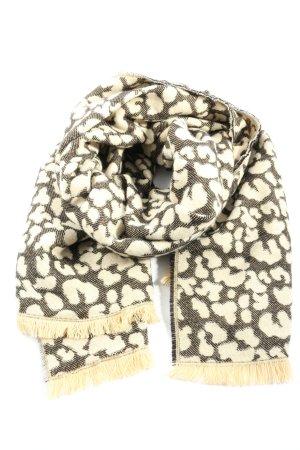 Zara Accesoires Bufanda de flecos crema-color bronce look casual