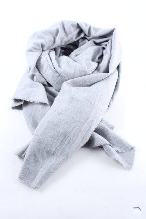 Zara Accesoires Écharpe à franges gris clair-rose moucheté