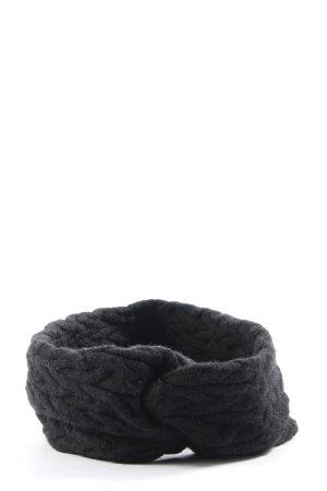 Zara Accesoires Bandeau cheveux noir style décontracté