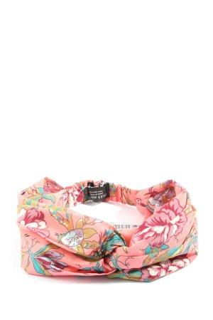 Zara Accesoires Bandeau cheveux rose imprimé allover style décontracté