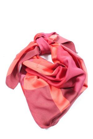 Zara Accesoires Foulard rose-rouge style décontracté