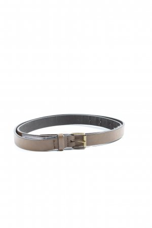 Zara Accesoires Faux Leather Belt brown casual look