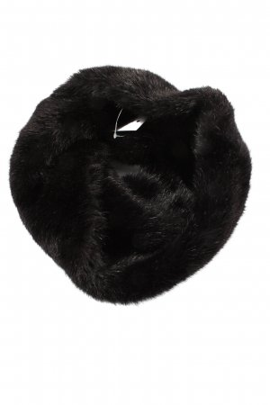 Zara Accesoires Écharpe tube noir style décontracté