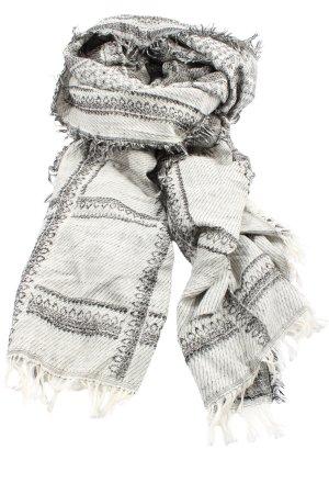 Zara Accesoires Chal veraniego blanco-negro look casual