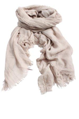 Zara Accesoires Chal veraniego blanco puro estampado a rayas look casual