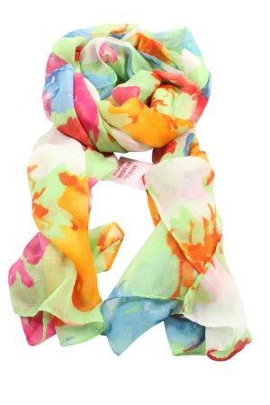 Zara Accesoires Chal veraniego estampado con diseño abstracto look casual