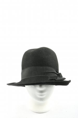 Zara Accesoires Fabric Hat black business style