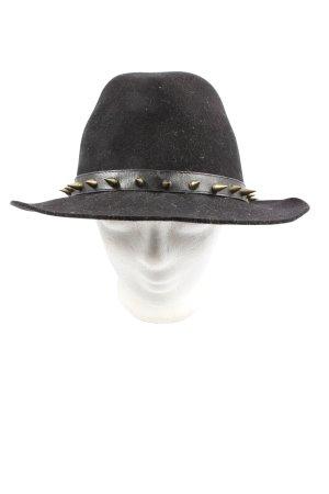 Zara Accesoires Fabric Hat black elegant