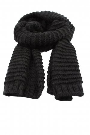 Zara Accesoires Knitted Scarf black casual look