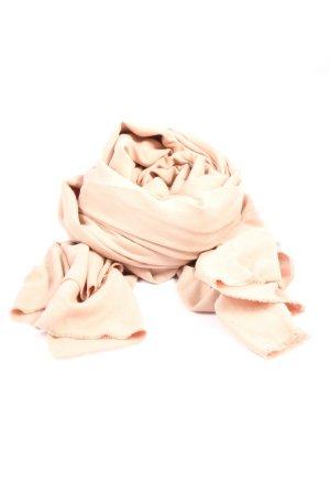 Zara Accesoires Écharpe en tricot crème style décontracté